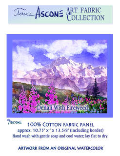 Ascone Denali with Fireweed