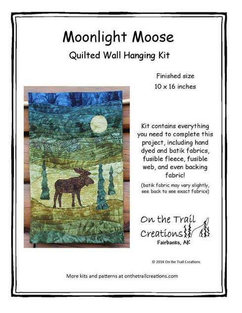 Moonlight Moose Quilt