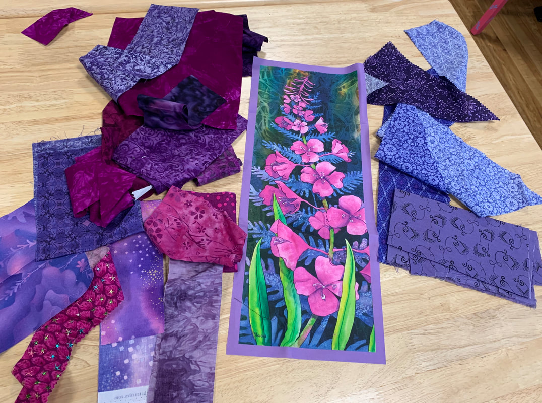 Fireweed panel border color selection
