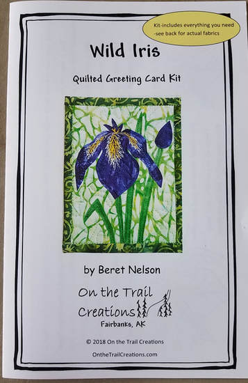 Wild Iris Quilted Card Kit