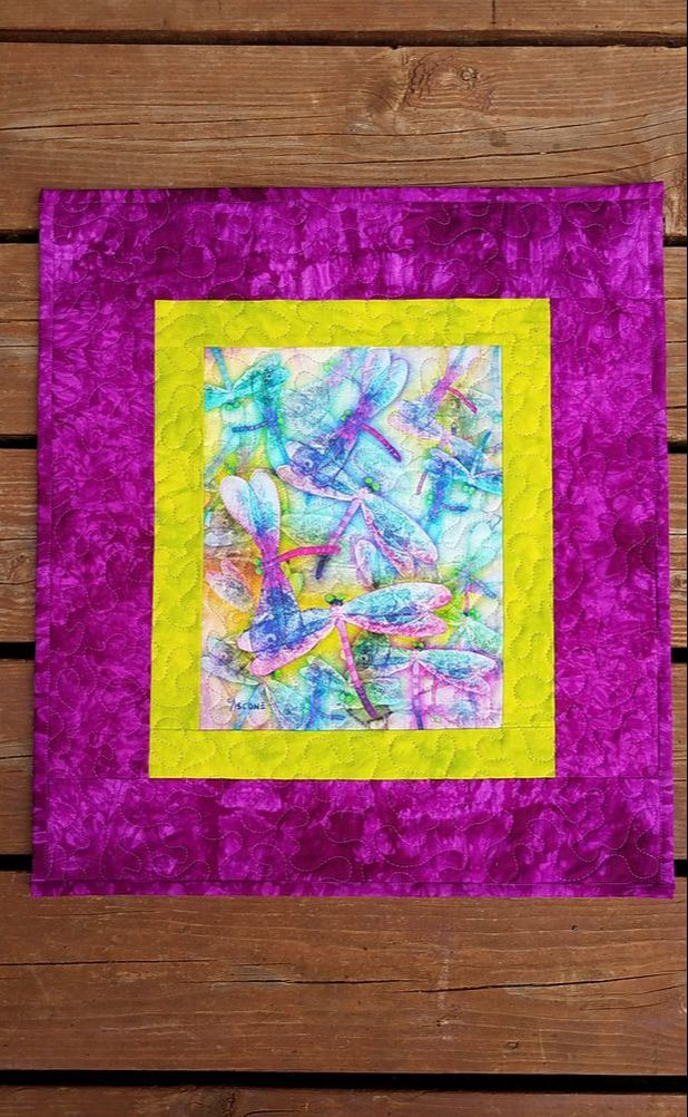 Teresa Ascone Wings Panel Quilt