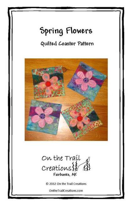 Spring Flowers Coaster Pattern