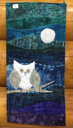night owl wall hanging quilt kit