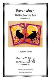 Raven Moon Card Kit - Orange
