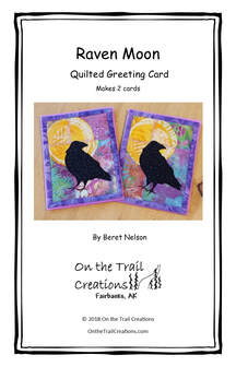 Raven Moon Card Kit - Purple